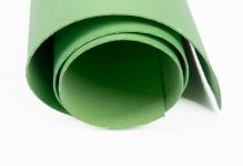 Кожа искусственная 300 г/кв.м 50 см х 35 см № 9 бл. Зелёный