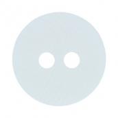 """Пуговицы костюмные с проколами -1 """""""" VS 0032 24 """" ( 15 мм) 24 шт СК № А001 белый"""
