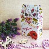 """Декоративная упаковка """"Полевые цветы"""" (коробочка вертикальная)"""