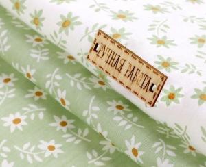 Набор ткани пэчворк «Цветочная поляна», 50 х 50 см