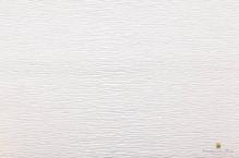 Бумага гофрированная Италия (50х250см, 180гр.), цвет белый