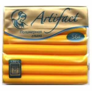 Полимерная глина с повышенной прочностью  классический цв.Солнечно желтый 56 г