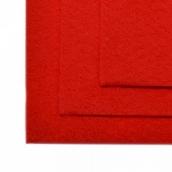Фетр листовой мягкий IDEAL 1мм 20х30см цв.601 красный