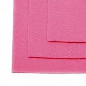 Фетр листовой мягкий IDEAL 1мм 20х30см цв.614 розовый