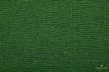 Бумага гофрированная  Италия  50см х 2,5м 180г/м2 цв. травяной