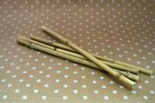 Палочка бамбуковая  полая 6-10ммх30см уп.4шт