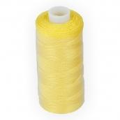"""Швейные нитки (полиэстер) 20s/2 """"Micron"""" 200 я 1 шт 183 №385 ярко-желтый"""