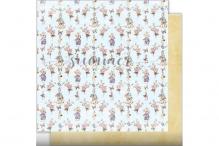"""Лист двусторонней бумаги """"Bunnies"""" 190гр, 30,5*30,5см"""