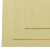 Фетр листовой жесткий 2мм 20х30см 100% ПЭ уп.2 шт цв.бл.жёлтый