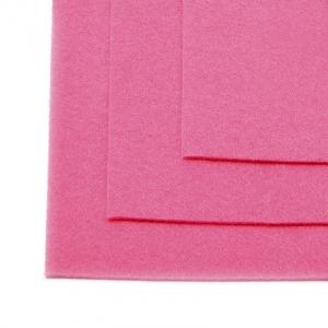 Фетр листовой жесткий IDEAL 1мм 20х30см Цв.614 розовый