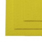 Фетр листовой жесткий IDEAL 1мм 20х30см цв.633 лимон
