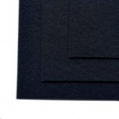 Фетр листовой жесткий IDEAL 1мм 20х30см цв.659 черный