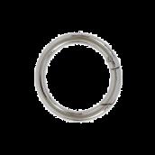 Карабин,  разм.50(38)х5мм, цв.никель полированый, 1шт