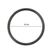 Кольцо металлическое  40х 3мм цв. оксид уп. 4шт