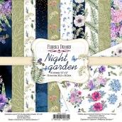 """Набор скрапбумаги """"Night garden"""" 30,5x30,5см"""
