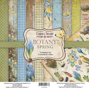 """Набор скрапбумаги """"Botany Spring"""" 20x20см"""