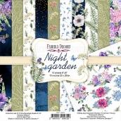 """Набор скрапбумаги """"Night garden"""" 20x20см"""