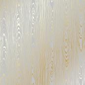 """Лист односторонней бумаги с фольгированием """"Golden Wood Texture Gray"""""""