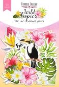 """Набор высечек, коллекция """"Wild Tropics"""", 54шт"""