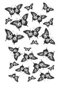 """Оверлей """"Бабочки"""""""