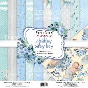 """Набор скрапбумаги """"Shabby baby boy redesign"""" 30,5x30,5см"""