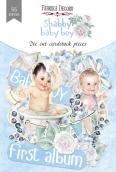 "Набор высечек, коллекция ""Shabby baby boy redesign"", 55шт"