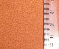 Кожа искусственная  20х30см толщ.0,85мм цв.оранжевый уп.2листа