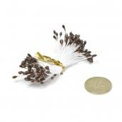 Тычинки Magic 4 Hobby  уп.86 шт цв. коричневый