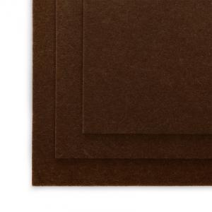 Фетр листовой полужесткий IDEAL 1мм 20х30см  цв. Коричневый 1шт