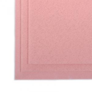 Фетр листовой полужесткий IDEAL 1мм 20х30см  цв. бл.розовый 1шт