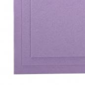 Фетр листовой полужесткий IDEAL 1мм 20х30см  цв. бл.фиолетовый 1шт