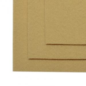 Фетр листовой жесткий IDEAL 1мм 20х30см цв. св.бежевый 1шт