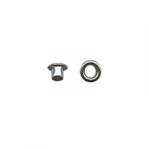 Блочки   d 3 мм 10шт никель (без лакового покрытия)