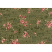 Ткань для пэчворка PEPPY ANTIQUE ROSE 50 x 55 см 112±4 г/кв.м 100% хлопок