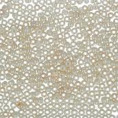 Бисер Япония  11/0 круглый 2 2.2 мм 5 х 5 г 0123 кремовый/перл