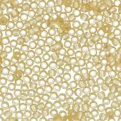 Бисер Япония  11/0 круглый 3 2.2 мм 5 х 5 г 0022F св.золотистый
