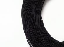 Канитель жесткая черная 1,1мм 10г