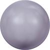 """Бусины стеклянные """"Swarovski"""" 5810 4 мм 5 шт под жемчуг кристалл  серый (mauve 160)"""