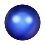"""Бусины стеклянные """"Сваровски"""" 5810 радужные 5мм 5 шт под жемчуг кристалл  глубокий синий (irid. dark blue 949)"""