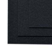 Фетр листовой жесткий IDEAL 1мм 20х30см   цв.655 иссинячерный