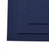 Фетр листовой жесткий IDEAL 1мм 20х30см  цв.673 т.синий