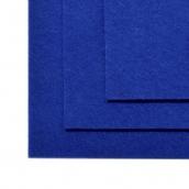 Фетр листовой жесткий IDEAL 1мм 20х30см  цв.679 синий