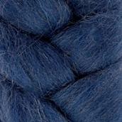 """Шерсть для валяния КАМТ """"Лента для валяния"""" (шерсть п/т 100%) 1х50г/2,1м цв.022 джинса"""