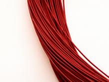 Канитель жесткая красная 1,1мм 10г