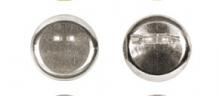 Заготовки для броши  25 шт №02 под никель 3см