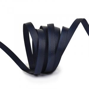 Лента Ideal репсовая в рубчик шир.6мм цв. 372 черно-синий