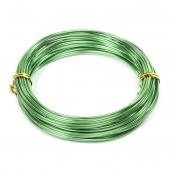 Проволока O 1,5мм цв.25 зеленый рул.10м