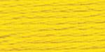 """Нитки для выш """"Gamma""""  мулине  100% хлопок  8 м №0516 желтый"""