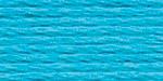 """Нитки для выш """"Gamma""""  мулине  100% хлопок  8 м №3123  голубой"""