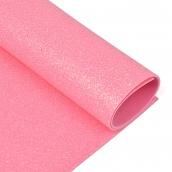Фоамиран глиттерный Magic 4 Hobby 2 мм цв.розовый, 20х30 см